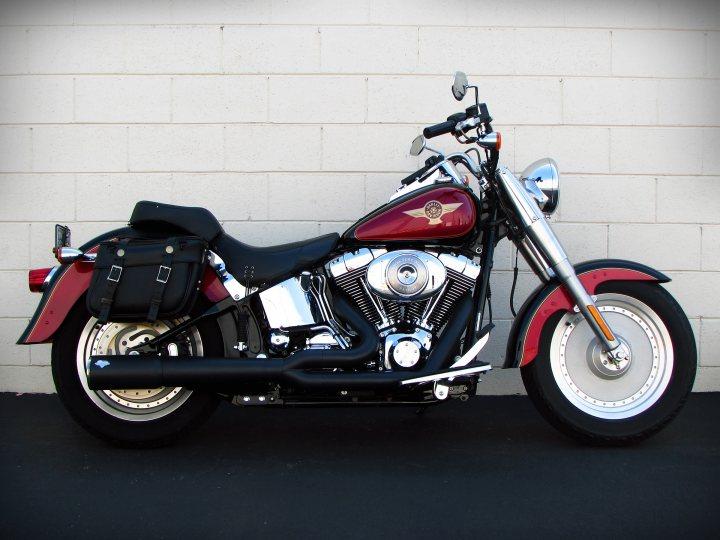 2005 Harley-Davidson FLSTFI 15th Anniversary Fat Boy For