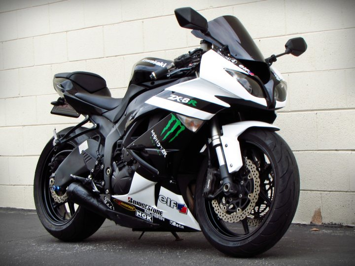 2009 Kawasaki Ninja Zx 6r Monster Edition For Sale J Amp M