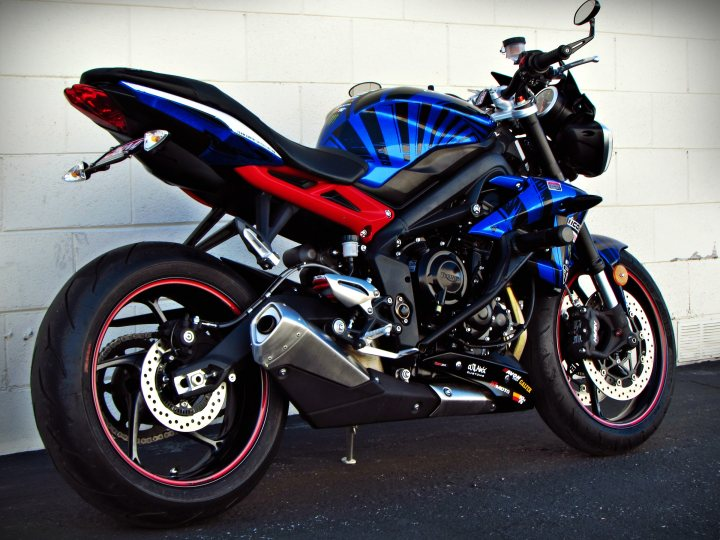2014 Triumph Street Triple R Abs Team Empire Special Edition For Sale J Amp M Motorsports