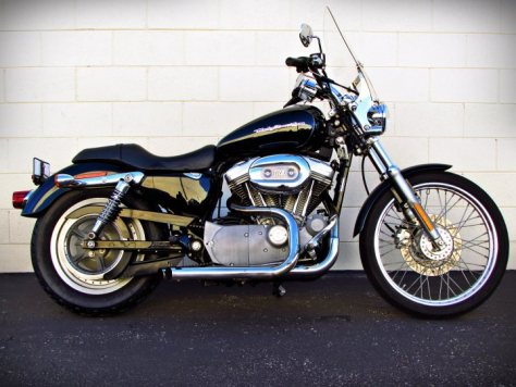 2004 harley davidson xl883c sportster 883 for sale j m motorsports. Black Bedroom Furniture Sets. Home Design Ideas
