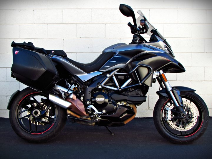 2013 Ducati Multistrada 1200s Granturismo Abs For Sale J