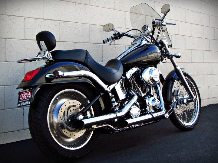 2000 Harley Davidson Fxstd Softail Deuce For Sale J Amp M