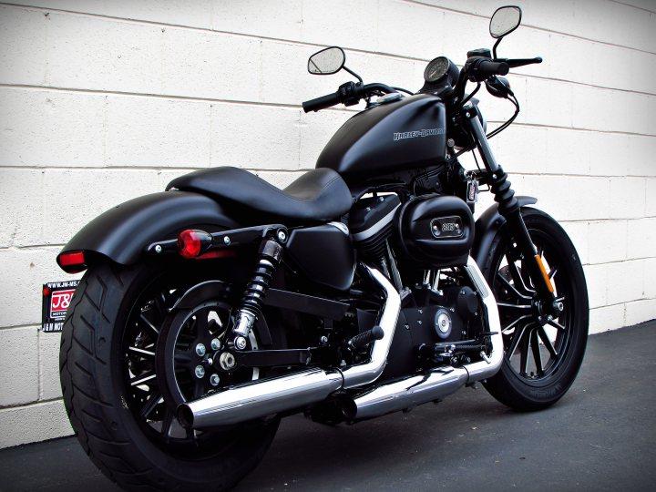 2011 Harley Davidson Xl883n Sportster 883 Iron For Sale