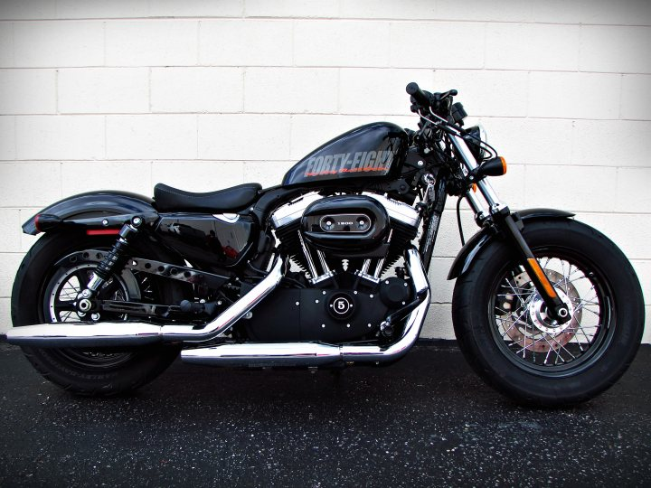 2012 Harley Davidson Xl1200x Sportster Forty Eight For