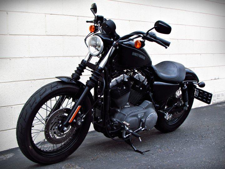 2011 Harley Davidson Xl1200n Sportster 1200 Nightster For