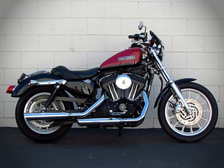 2007 Harley Davidson Xl1200r Sportster Roadster 1200 For