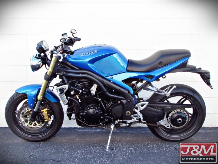 2005 Triumph Speed Triple 1050 For Sale J Amp M Motorsports