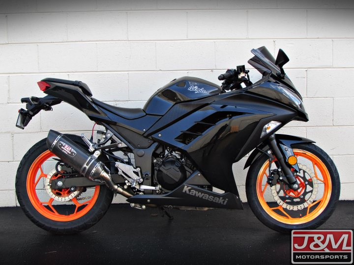 2014 kawasaki ninja 300 for sale j m motorsports. Black Bedroom Furniture Sets. Home Design Ideas