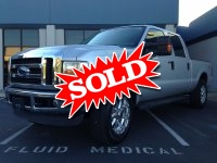 2008 Ford F250 4X4 Lariat Powerstroke Crew Cab Short Bed