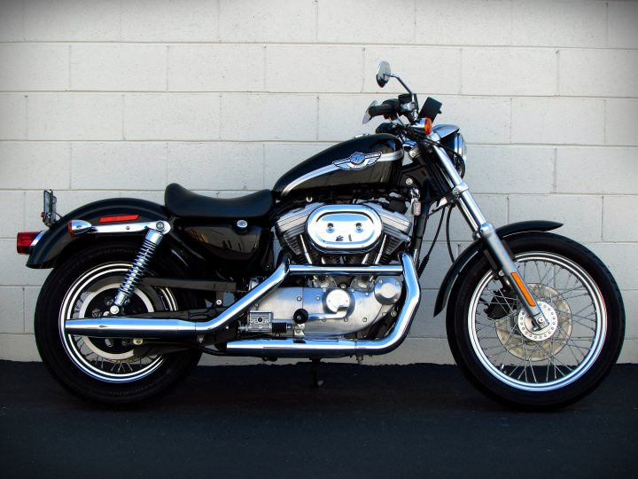 2003 Harley-Davidson XL883 Sportster 883 100th Anniversary For Sale